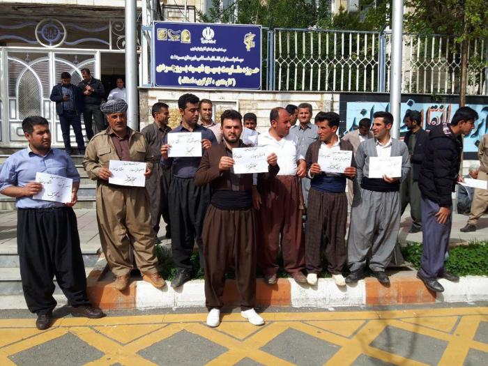 Sardasht merchants protest against increase of imports prices